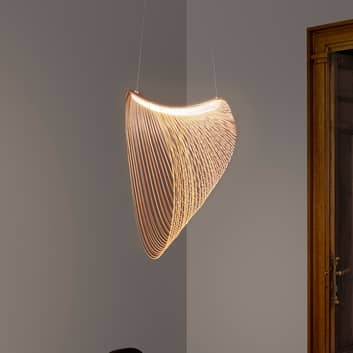 Luceplan Illan LED houten hanglamp dimbaar