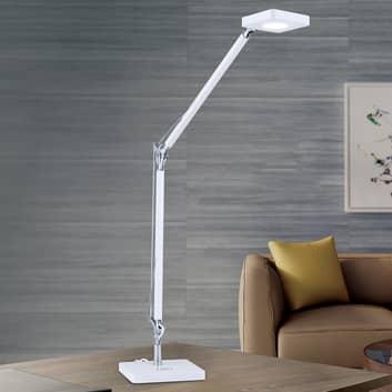 LED-skrivebordslampe Dave med Qi