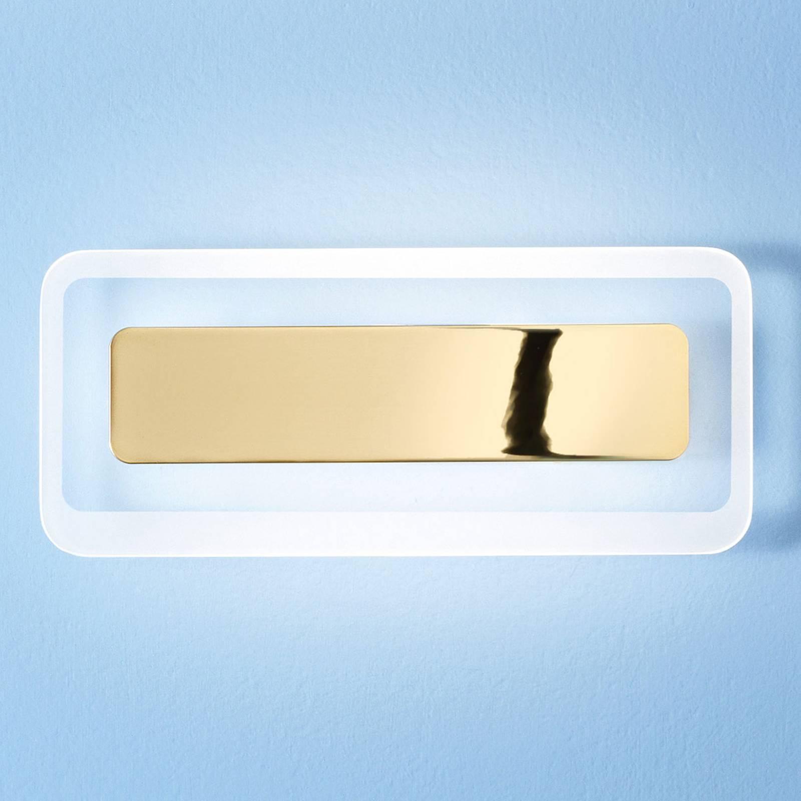 LED-Wandleuchte Antille gold 31,4 cm