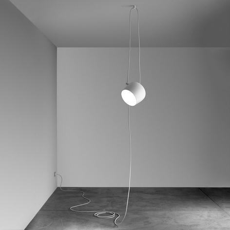 FLOS Aim Small hanglamp met stekker, wit