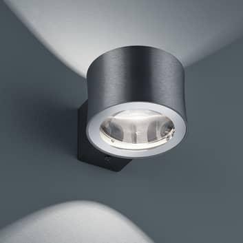 BANKAMP Impulse LED-Wandleuchte anthrazit