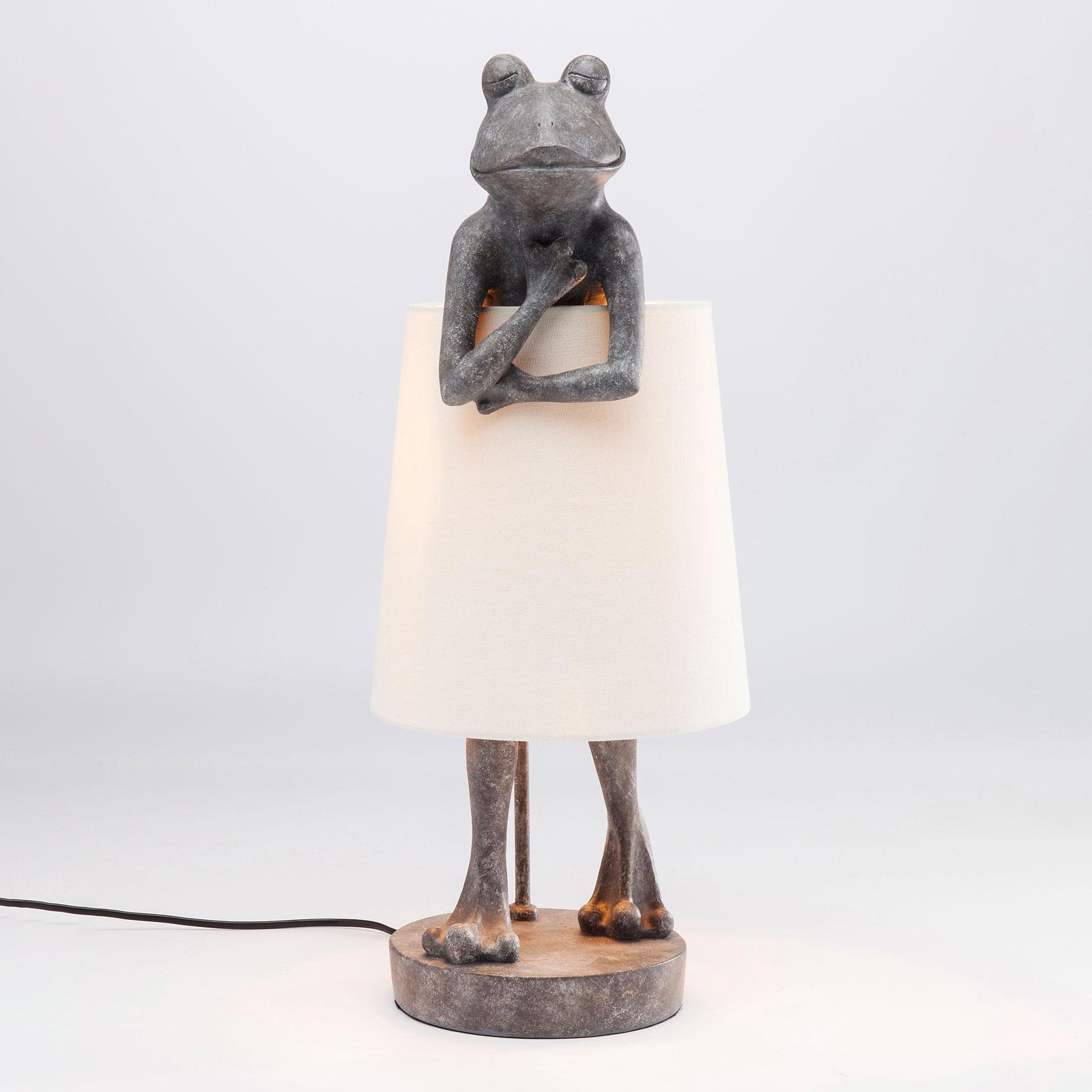 Kare Animal Frog lampe à poser grise