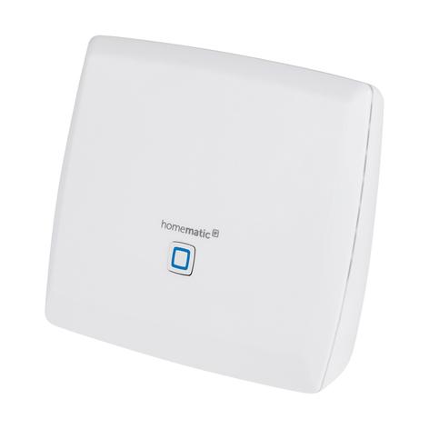 Homematic IP CCU3 kontrollsenter, lokalt
