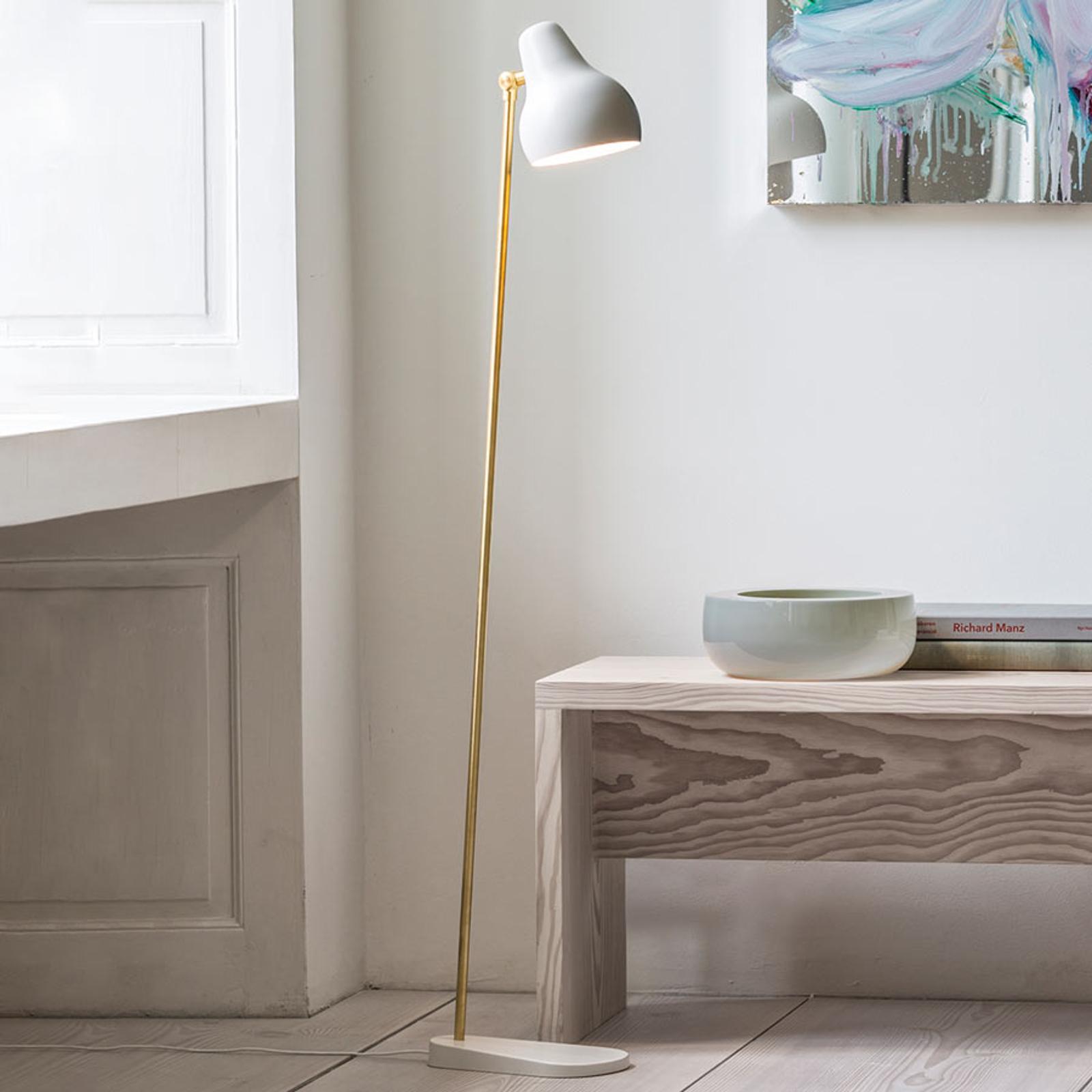 Witte design LED vloerlamp VL38