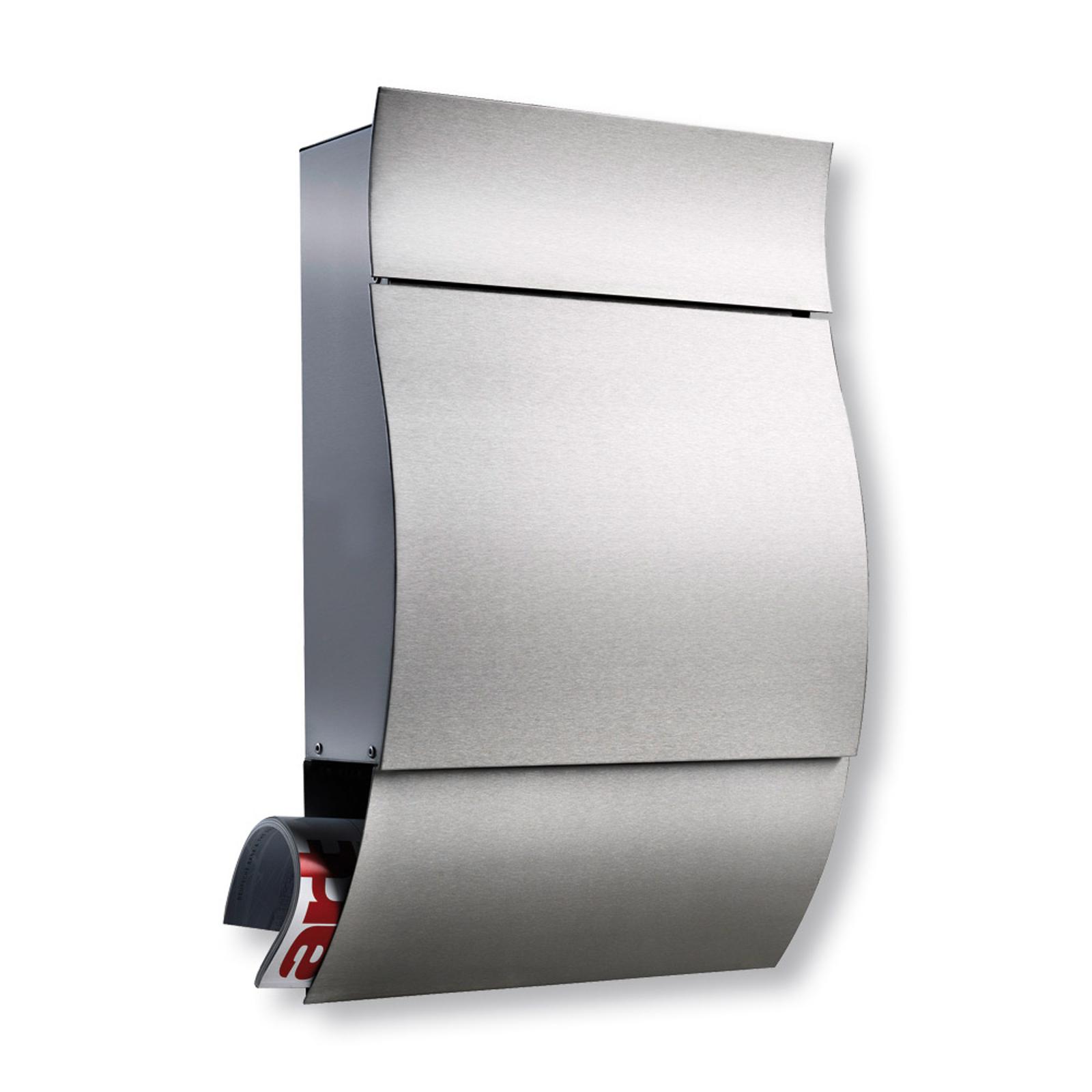 Opera - komfortabel postkasse i rustfrit stål