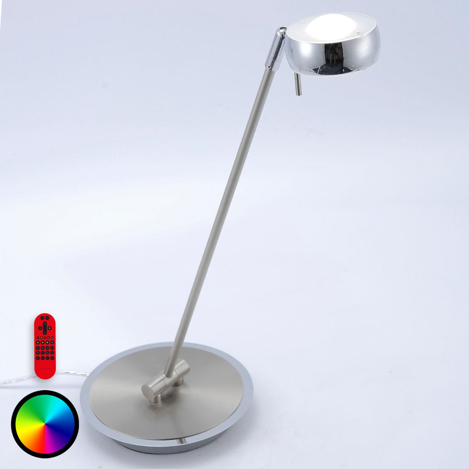 Lampa stołowa LED Lola-Opti ze zmianą kolorów