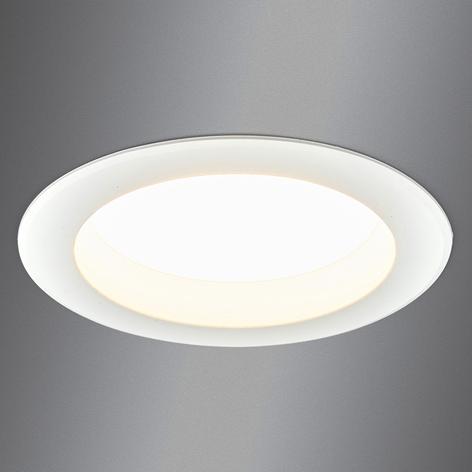 Kraftig LED-innfellingslampe Arian, 14,5 cm