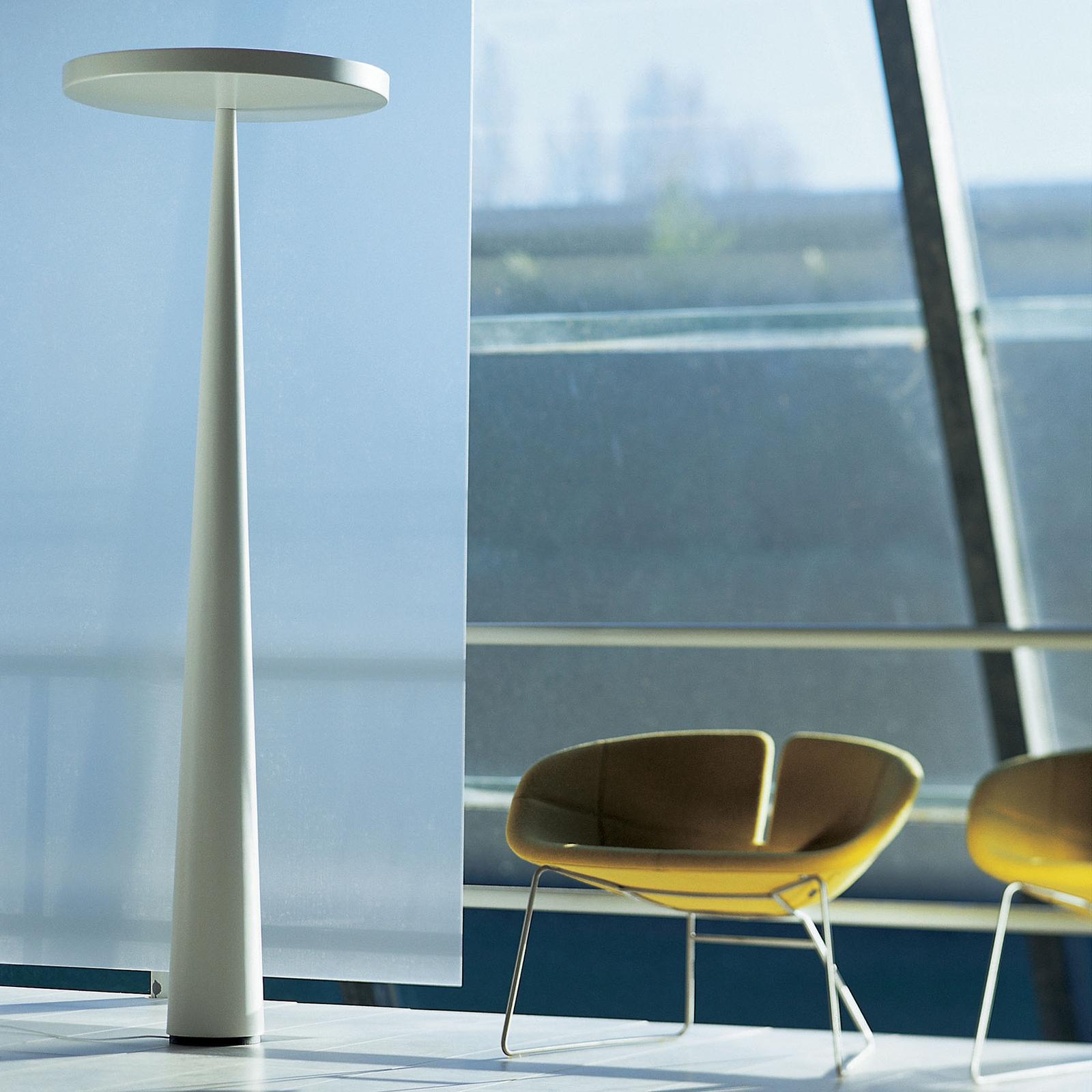 Prandina Equilibre Halo F3 lampadaire blanc