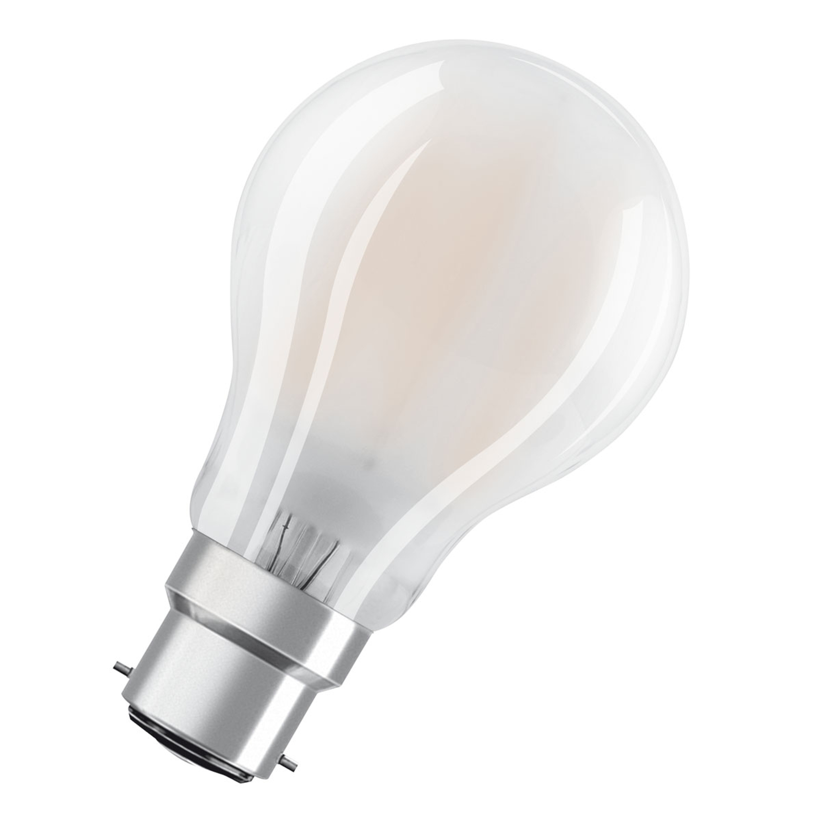 OSRAM ampoule LED B22d Classic A 7W 2700K mate