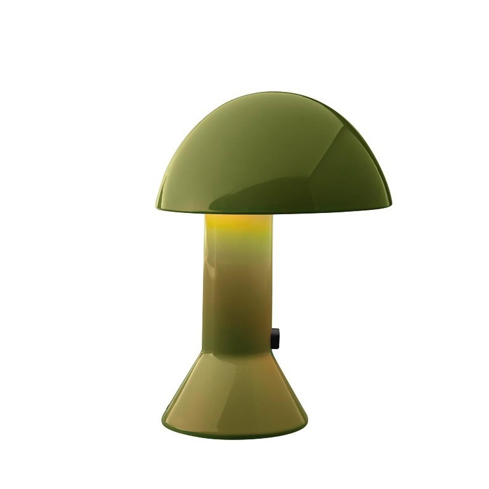 Design-tafellamp ELMETTO, groen