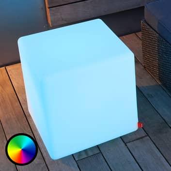 Flerfunktionell Cube Outdoor LED-dekorationslampa
