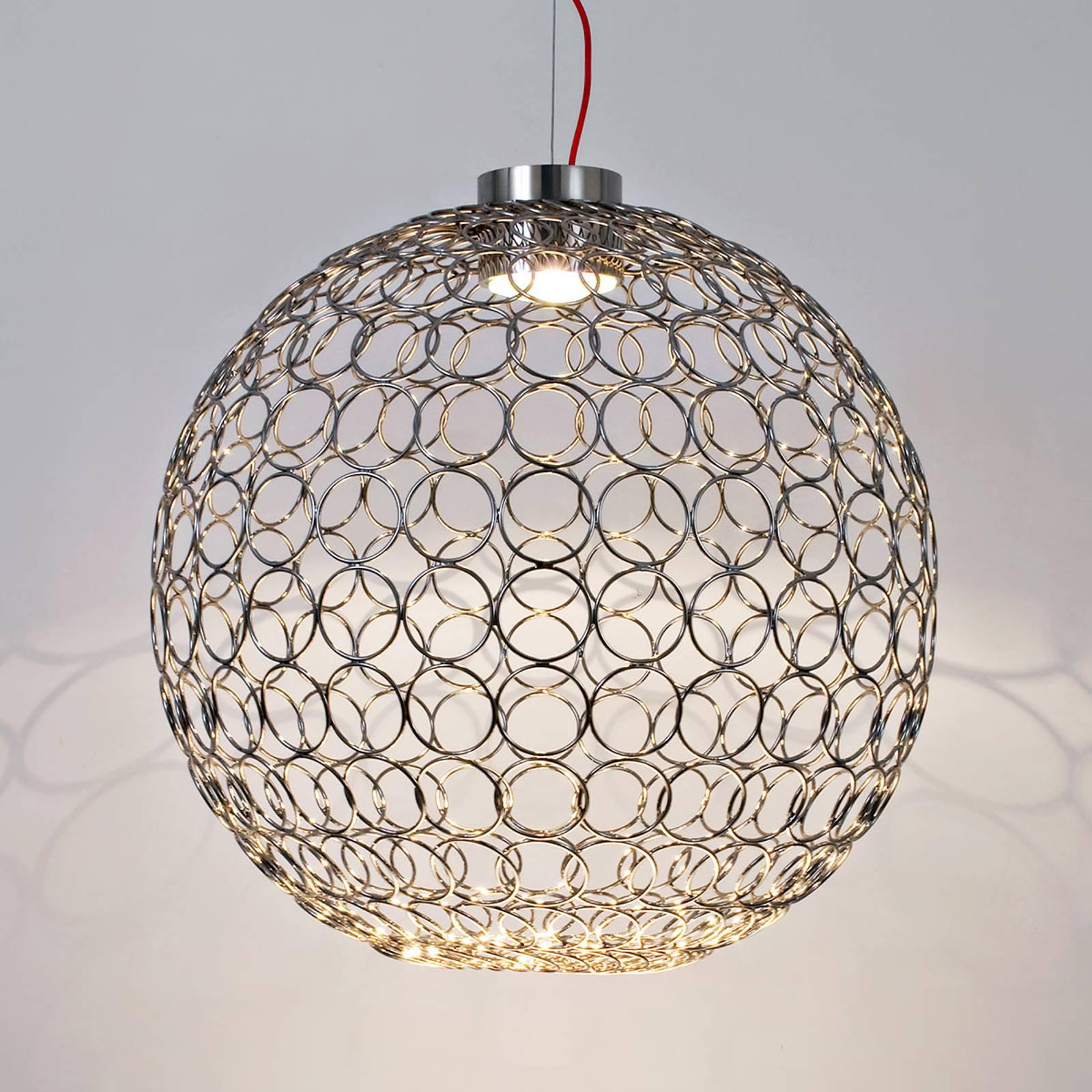 Terzani G.R.A. - lampa wisząca LED, 54 cm