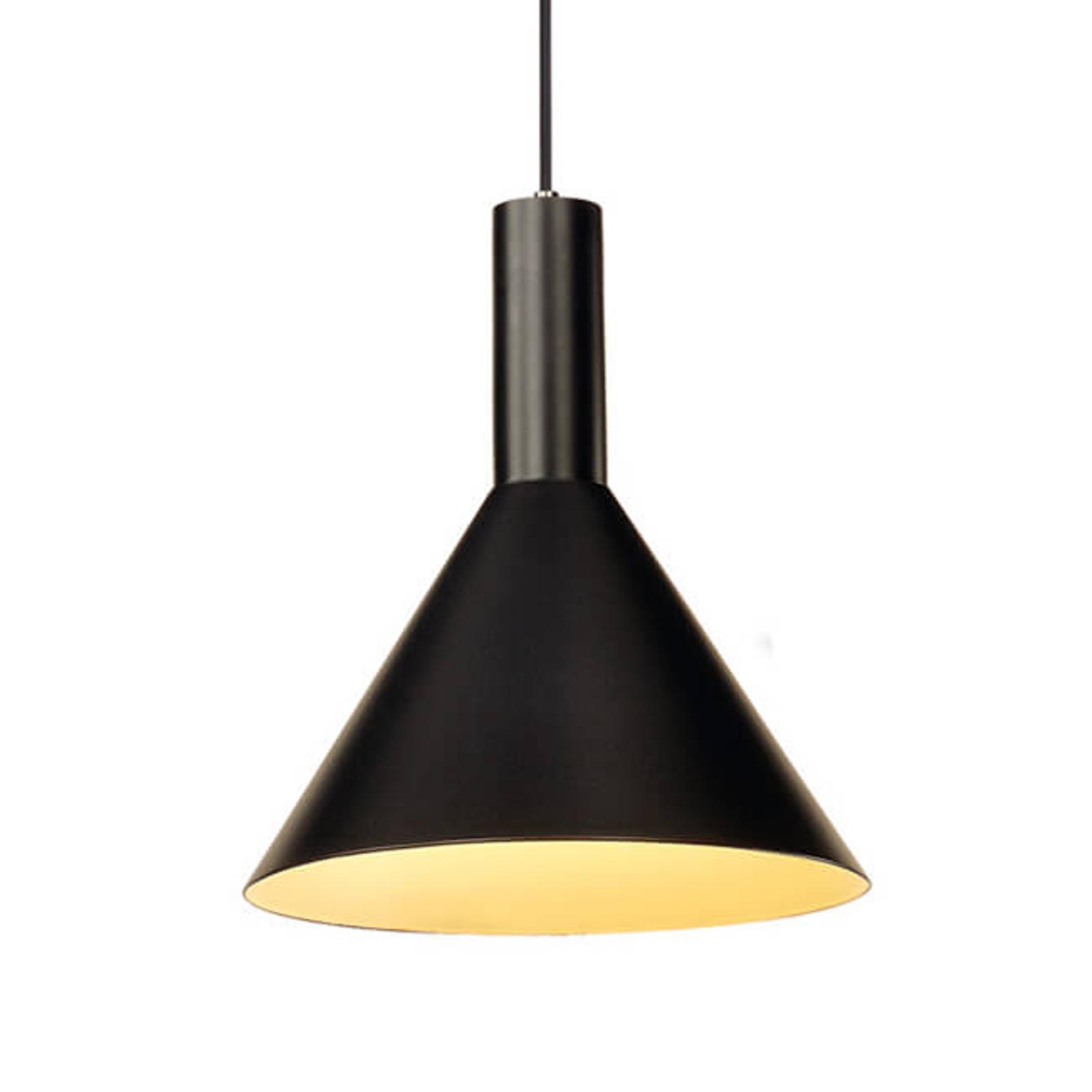 SLV Phelia lampa wisząca czarna 27,5 cm