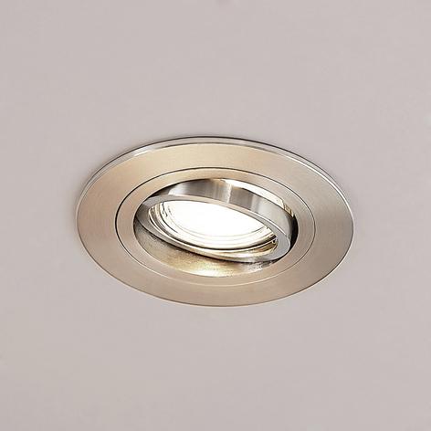 Lucande Arilena inbouwlamp, IP23, rond