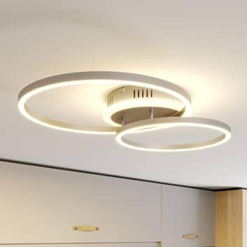 Lindby Smart Edica -LED-kattovalaisin