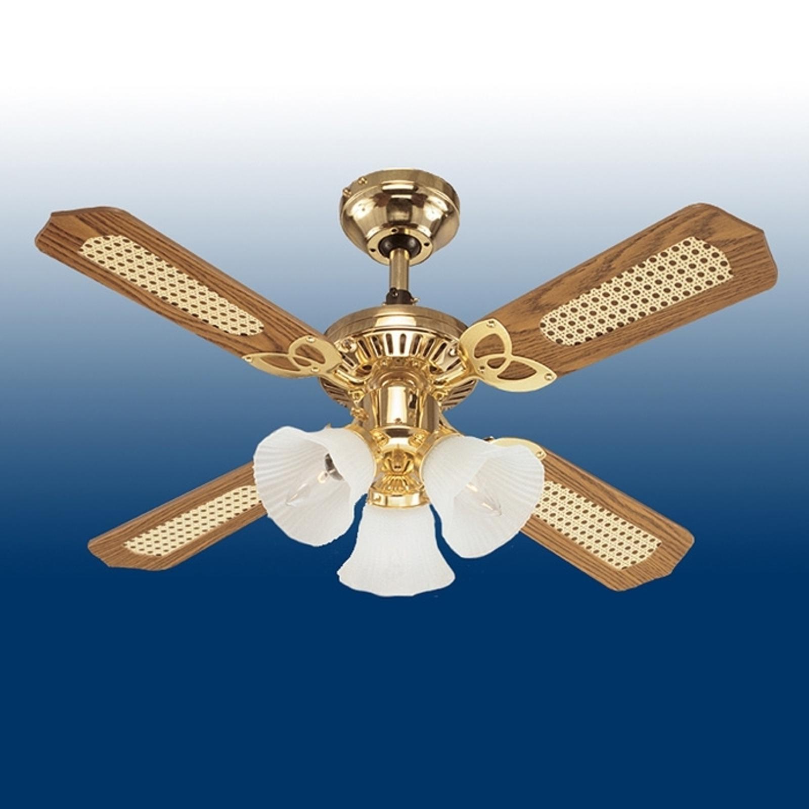 Ventilátor Westinghouse Princess Trio, dřevo