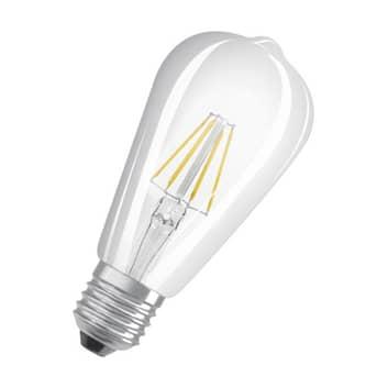 OSRAM Classic ST LED-Lampe E27 4W 2.700K klar