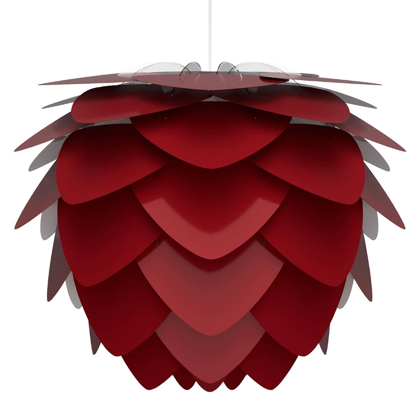 UMAGE Aluvia medium lampa wisząca rubinowa