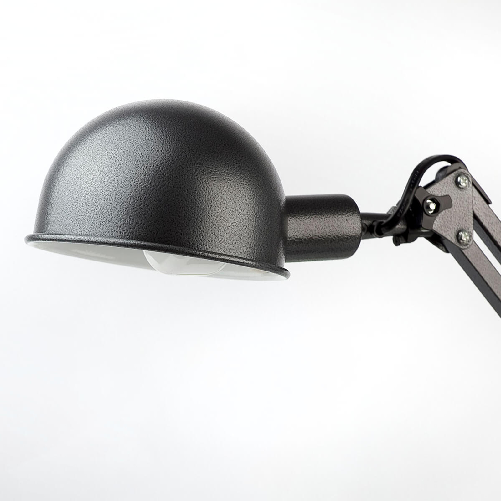 Lampe de bureau grise Baobab