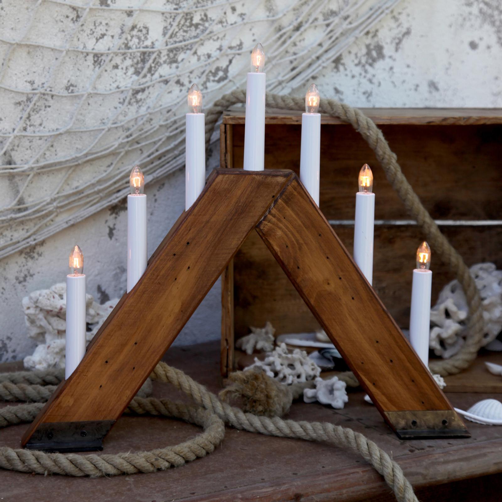 Viking - świecznik 7-częściowy