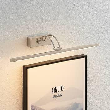 Lucande Felena-LED-tauluvalaisin satinoitu nikkeli