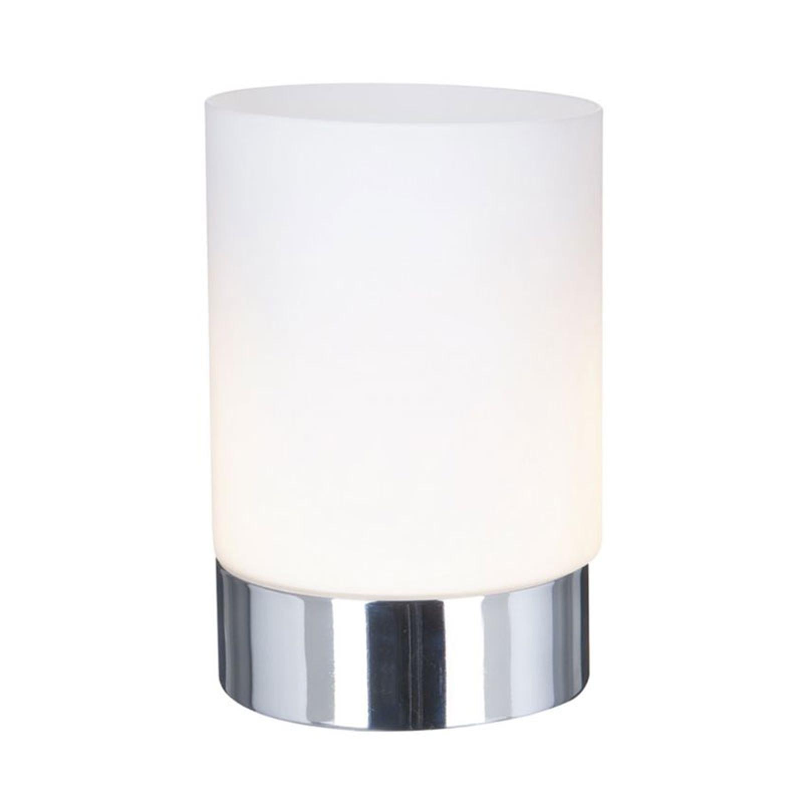Lampada da tavolo Touch 9791 con cilindro di vetro