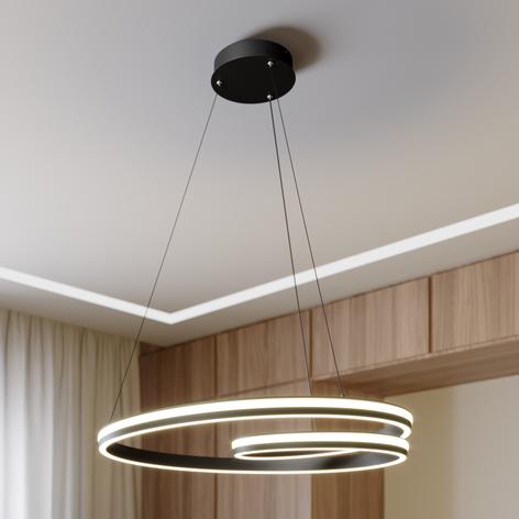 Lucande Gwydion suspension LED, 80cm