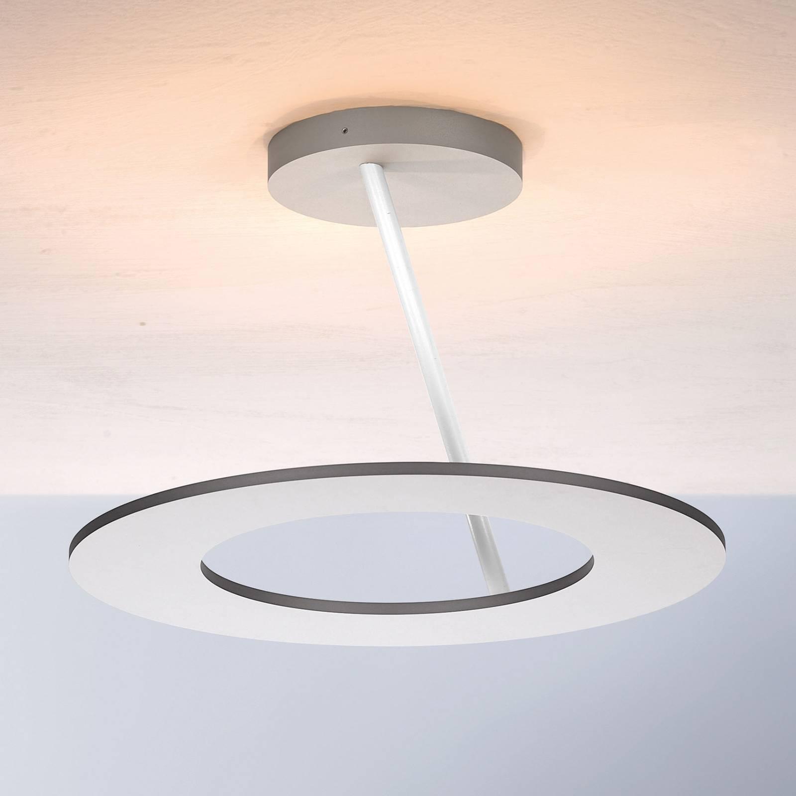 Bopp Stella lampa sufitowa Ø 30cm aluminium/biała