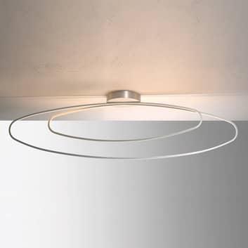 Filigran LED loftlampe Flair, aluminium