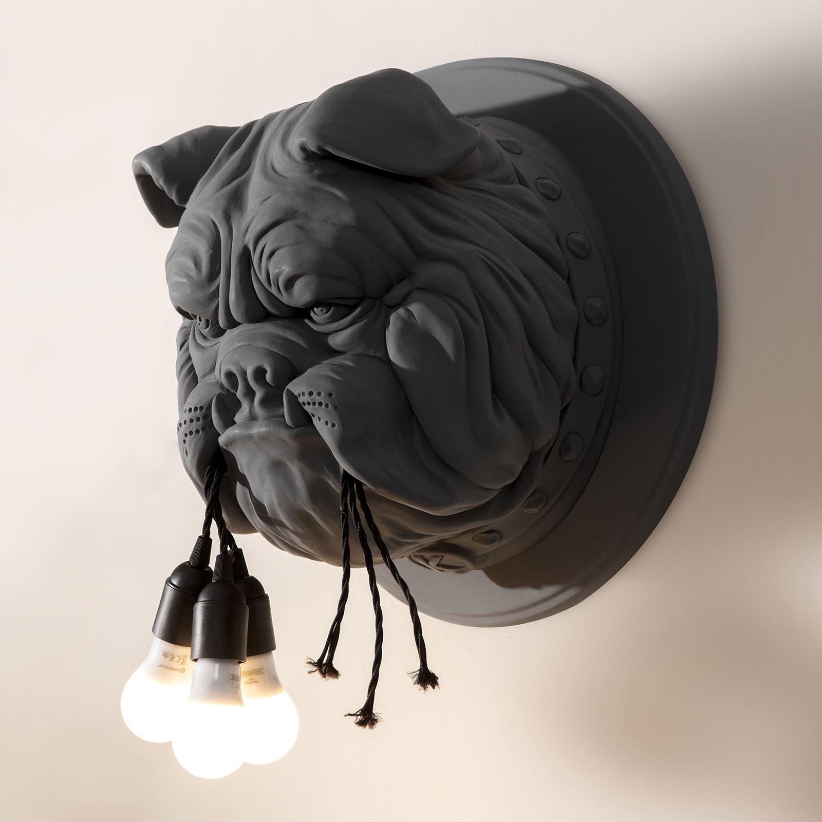 Karman Amsterdam - Designer-Wandleuchte, grau