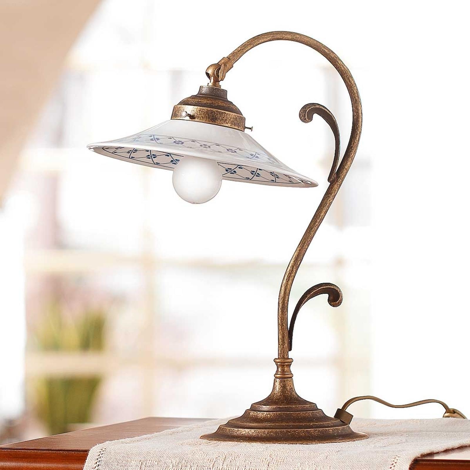 Ozdobna lampa stołowa ORLO