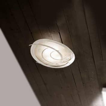 Galassia hvid loftlampe