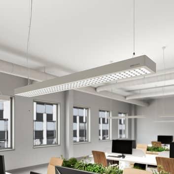 Arcchio Susi LED-Office-Pendellampe, DALI, silber