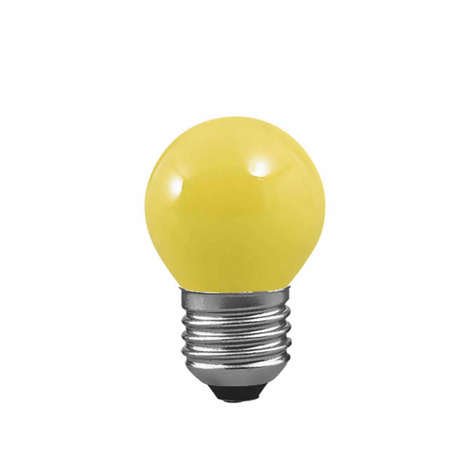 E27 25W dråbepære til lyskæder, gul