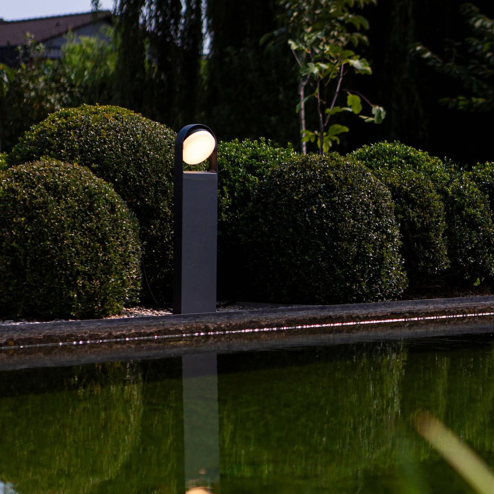 LED-Wegeleuchte Fele anthrazit, drehbar