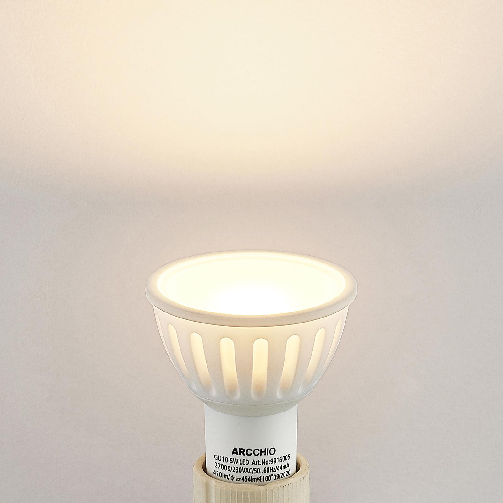 Arcchio reflektor LED GU10 100° 5W 2700K