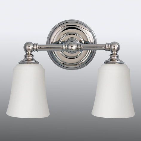 Vegglampe Huguenot Lake til badet, 2 lyskilde