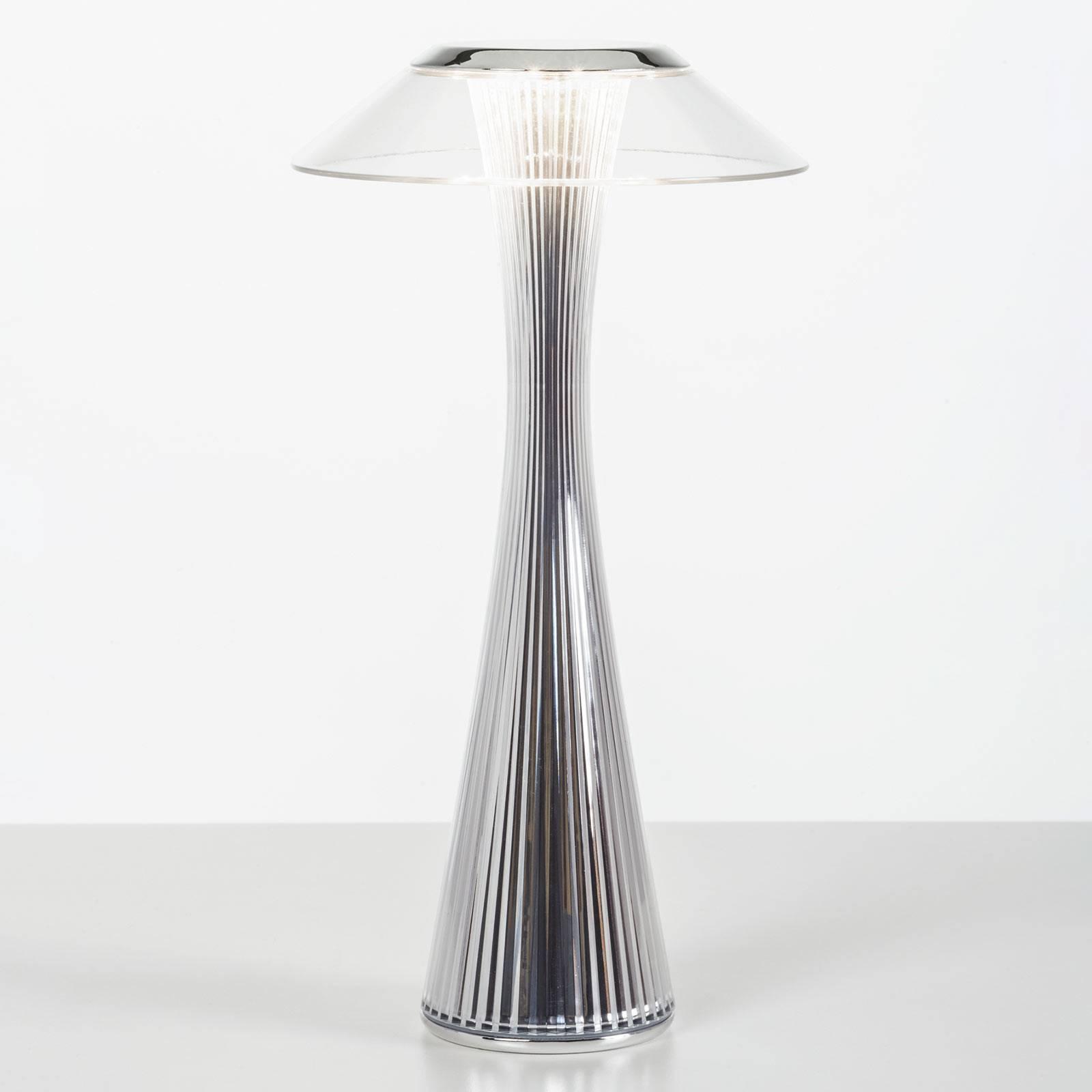 Kartell Space - lampe à poser designer LED, chromé