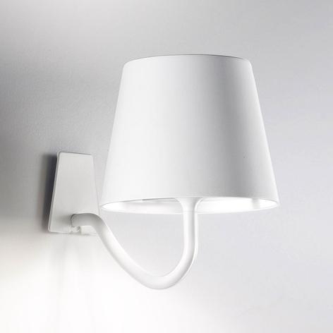 LED wandlamp Poldina dimbaar, accu en USB-poort