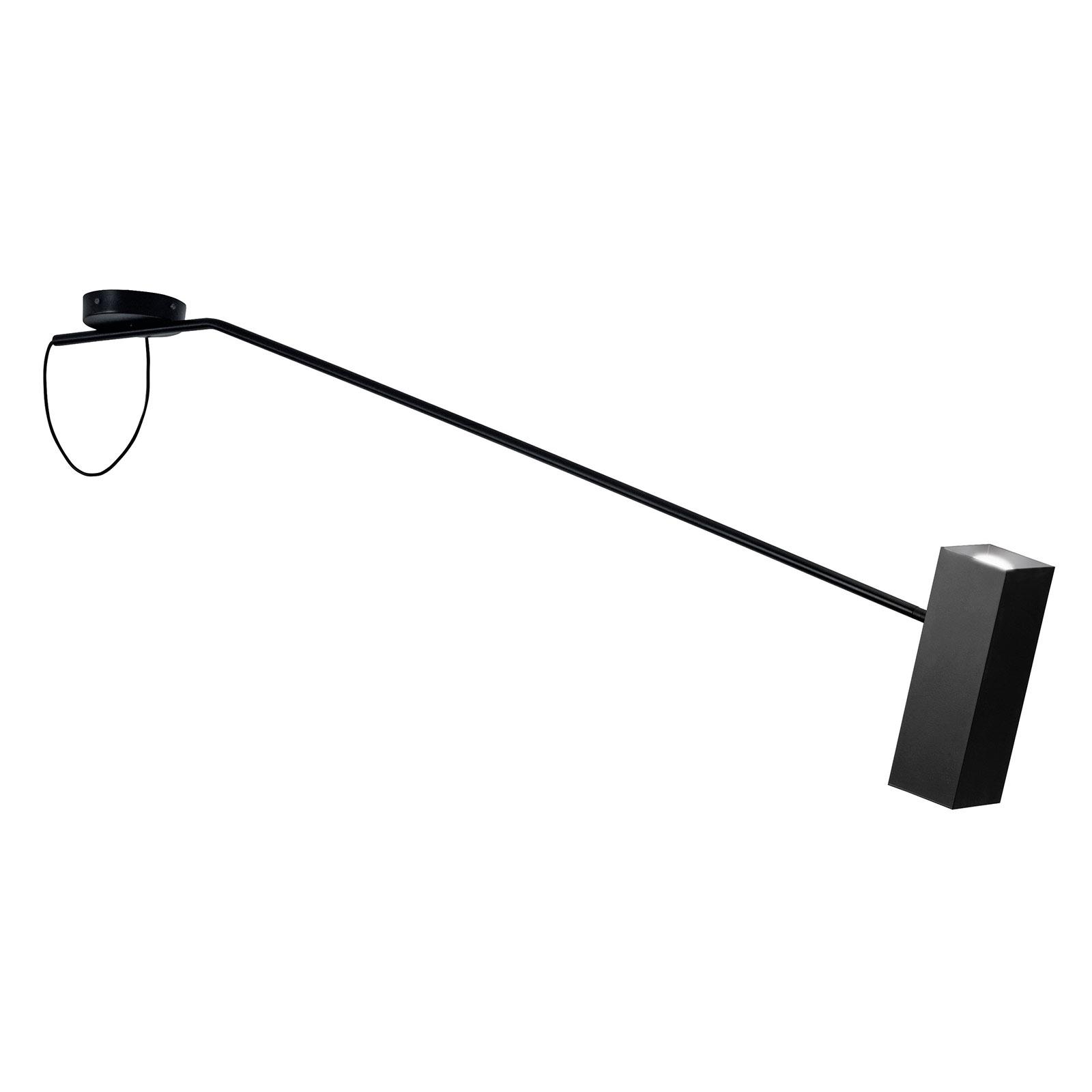 Modo Luce Dejavú plafondlamp lengte 165 cm zwart