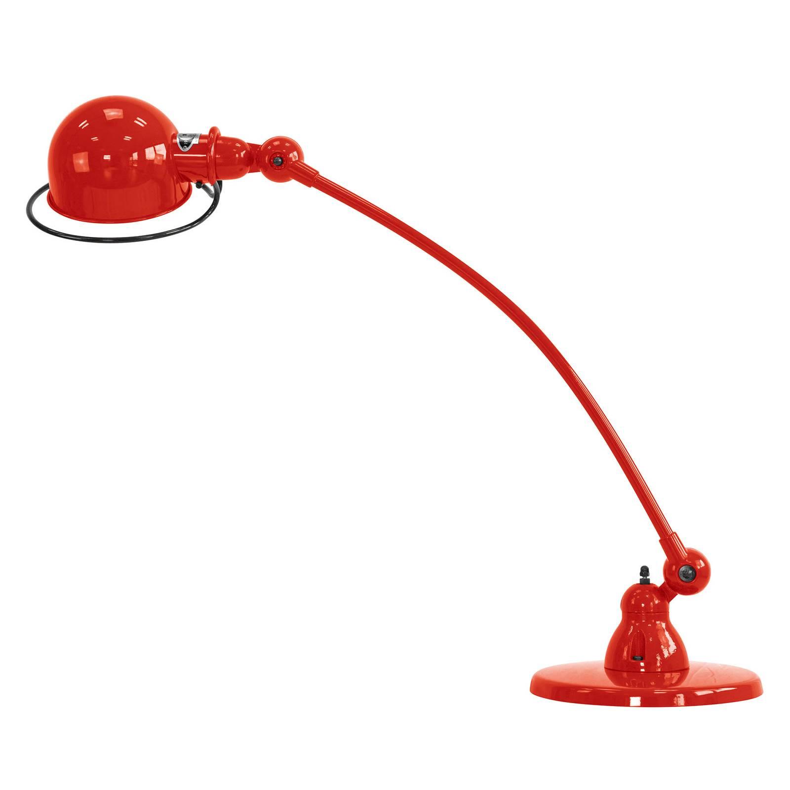 Jieldé Loft C6000 Tischleuchte, gebogen, rot