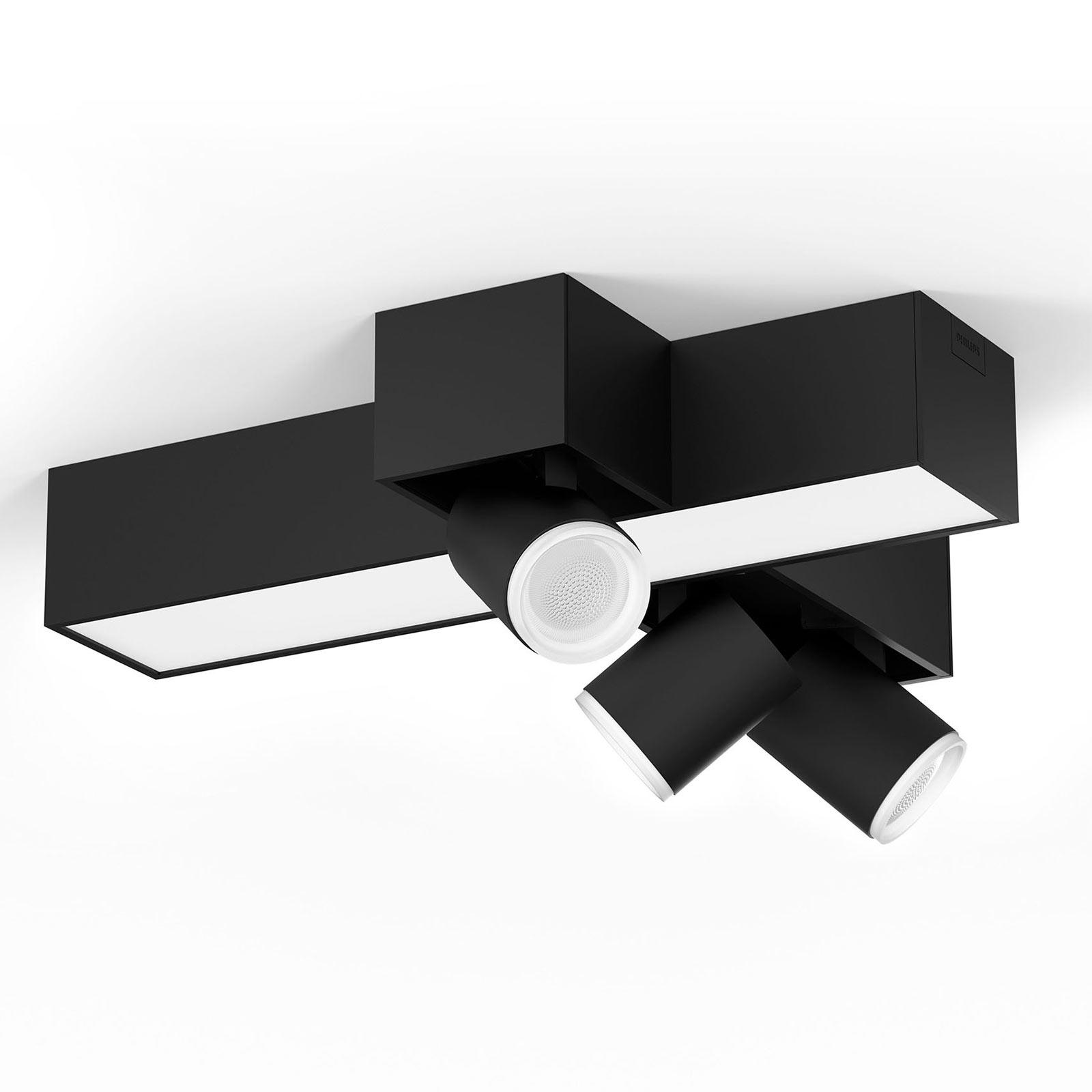 Philips Hue Centris Cross 3 lyskilder, svart