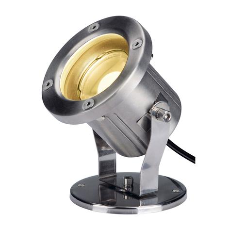 SLV Nautilus spot d'extérieur, acier inoxydable