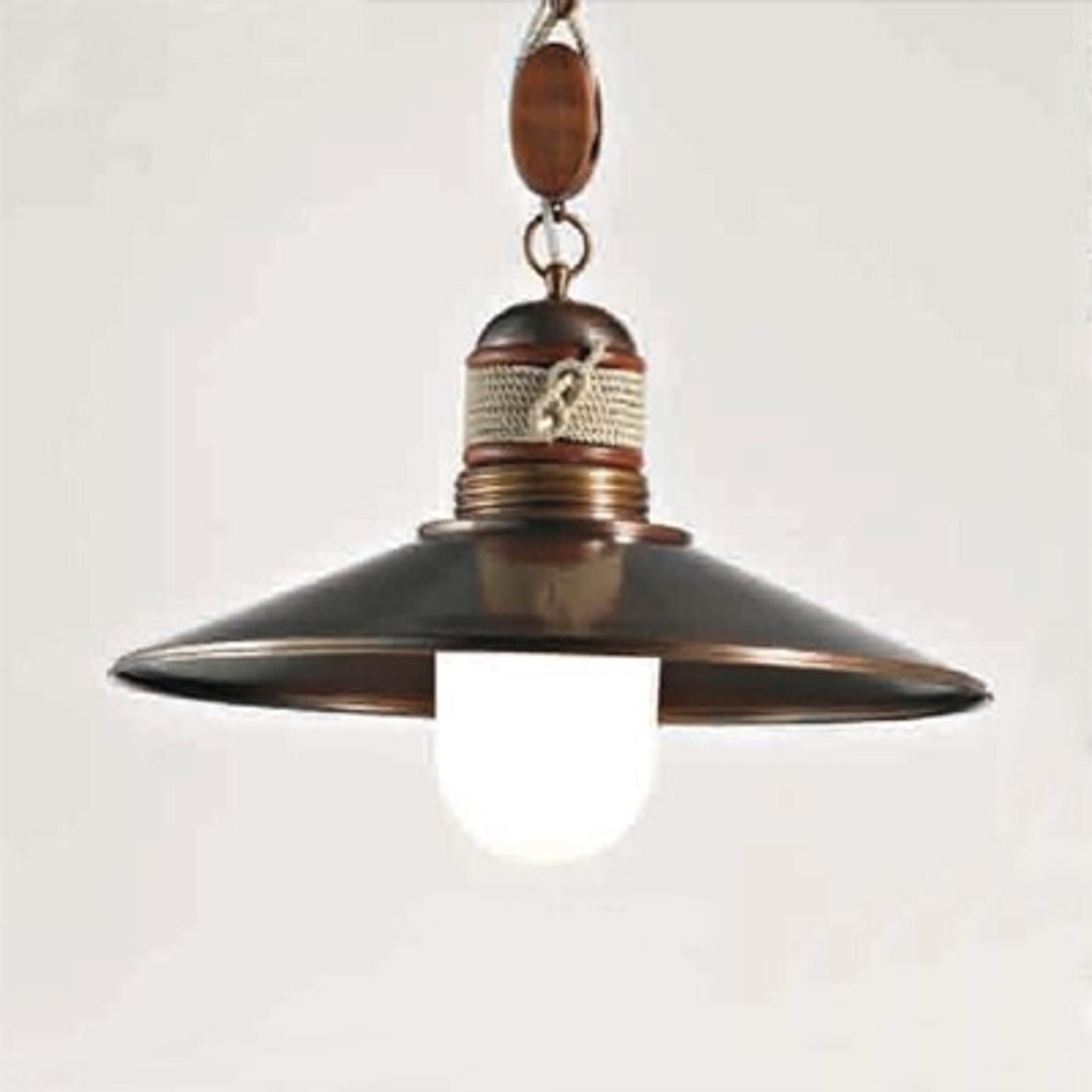 Lámpara colgante de 1 luz Lima