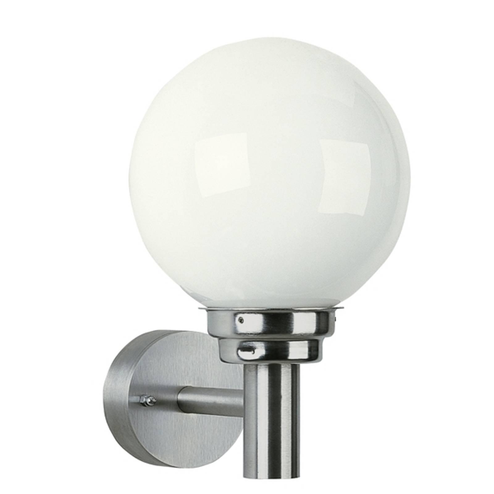 Kulista zewnętrzna lampa ścienna 155