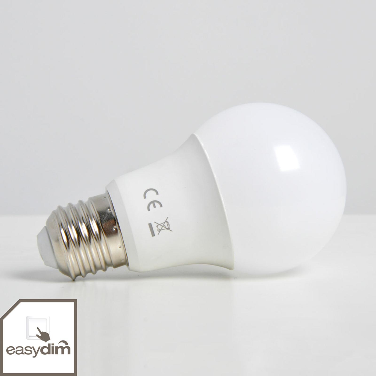 E27 10W 830 LED-pære easydim, mat