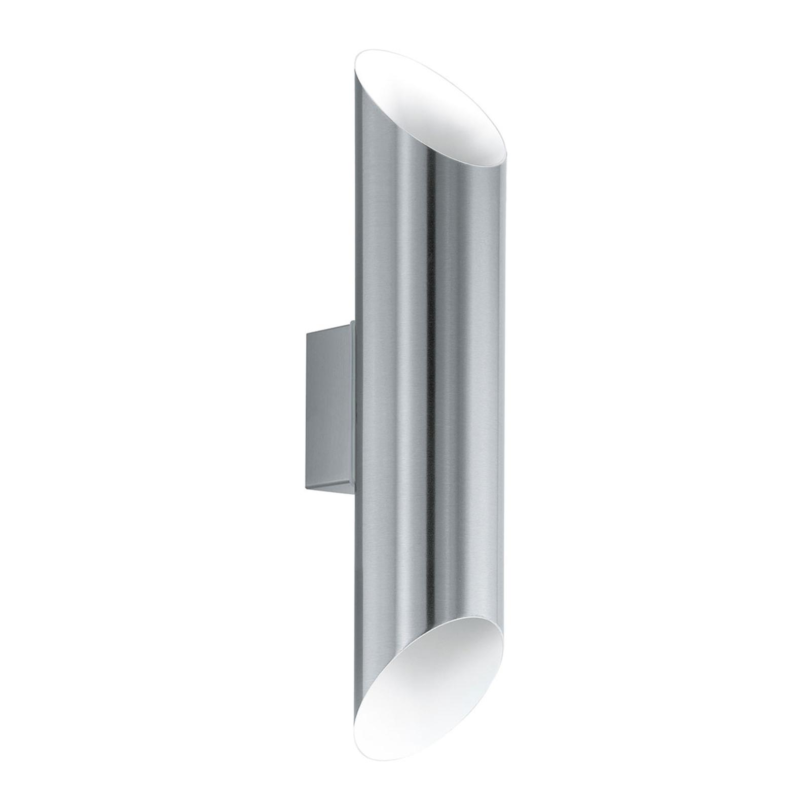 Utendørs LED-vegglampe Agolada, rustfritt stål