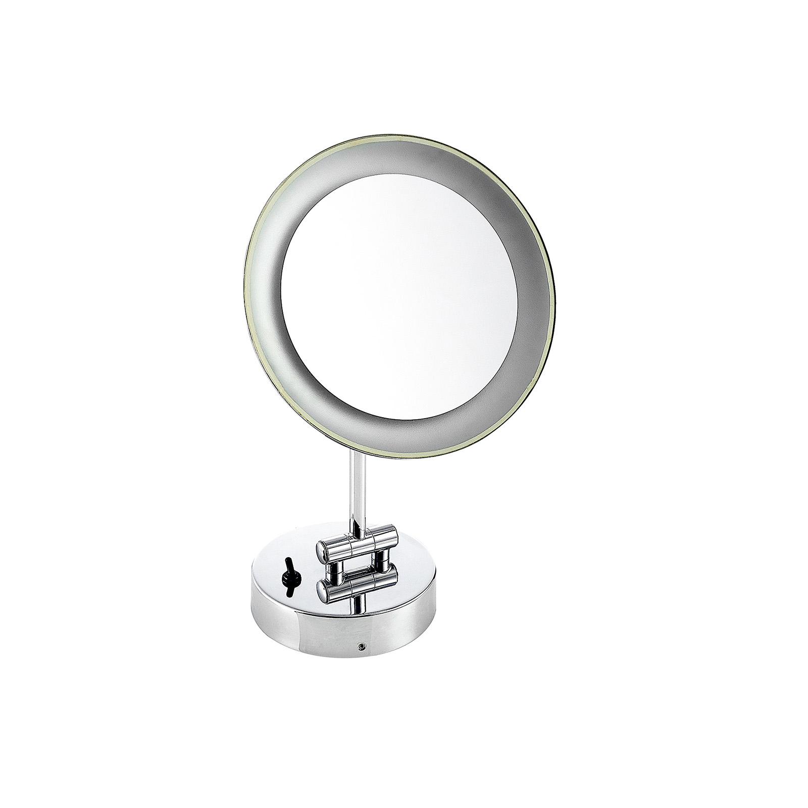 Lindby Fiana Kosmetikspiegel mit LED-Licht