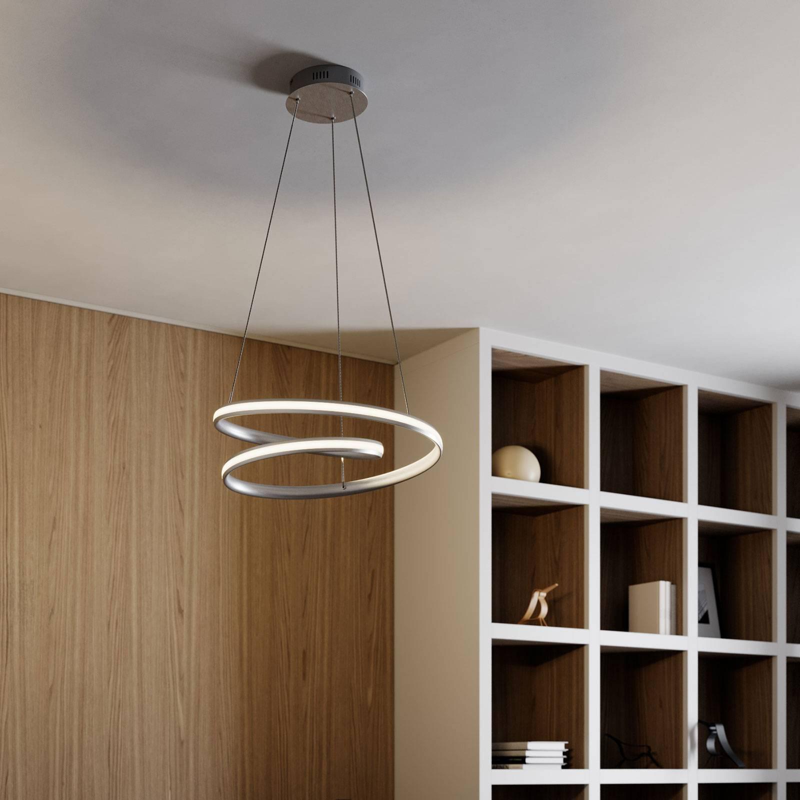 Lindby Smart Verio lampa wisząca LED wysokość 16cm