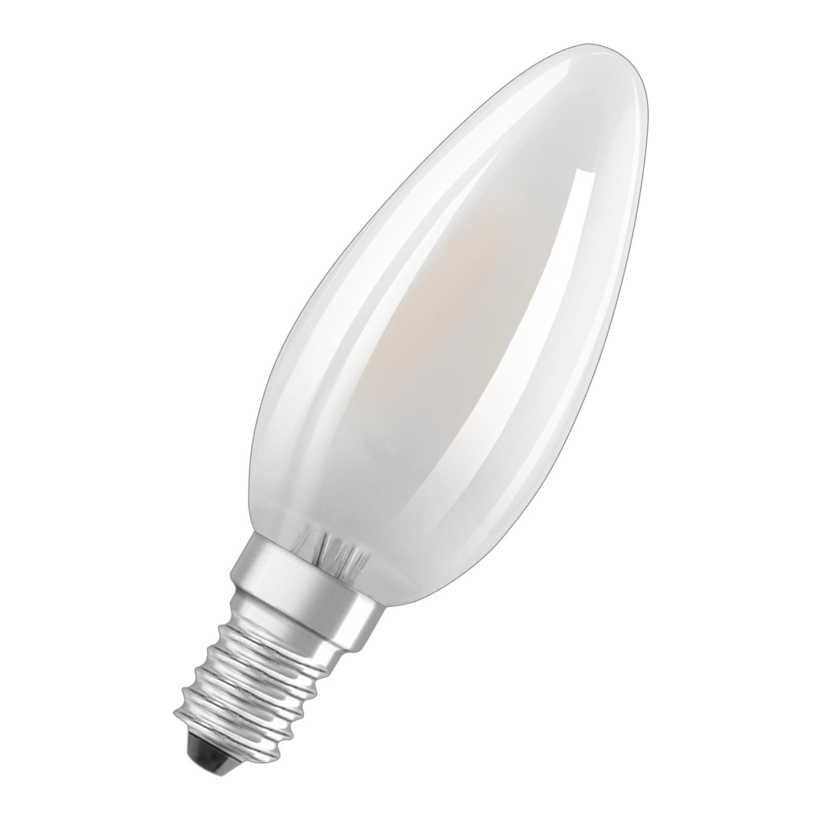 OSRAM LED-Kerzenlampe E14 B35 4W 2.700K matt